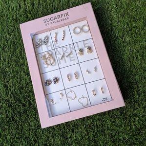 SUGARFIX by BaubleBar 12 Pack Earring Gift Set